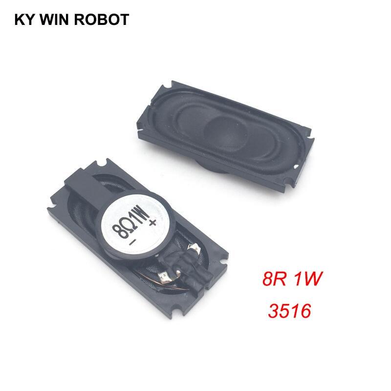2PCS/Lot Notebook Speaker Horn 1W 8R 3516 1635 Loud Speaker 8 Ohms 1 Watt 8R 1W 35*16MM Thickness 5.2MM