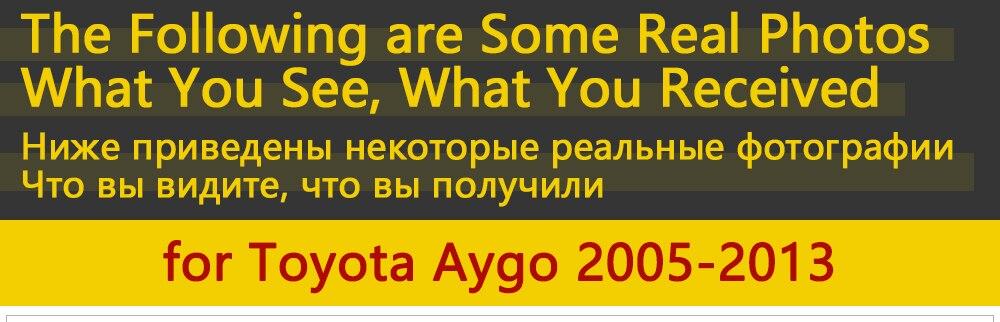 Для Toyota Aygo MK1 2005~ 2013 хромированные дверные ручки крышки наклейки на автомобиль отделка комплект 2006 2007 2008 2009 2010 2011 2012