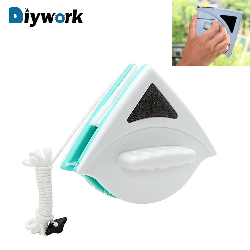 DIYWORK Magnetic Lavavetri Double-sided Window Cleaning Utile Classe Superficie Tergicristallo Strumenti di Pulizia Spazzola 5-12mmDIYWORK Magnetic Lavavetri Double-sided Window Cleaning Utile Classe Superficie Tergicristallo Strumenti di Pulizia Spazzola 5-12mm