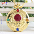 Retro flip Sailor Moon prism watch new creative animation quartz pocket watch gifts for children ZS002