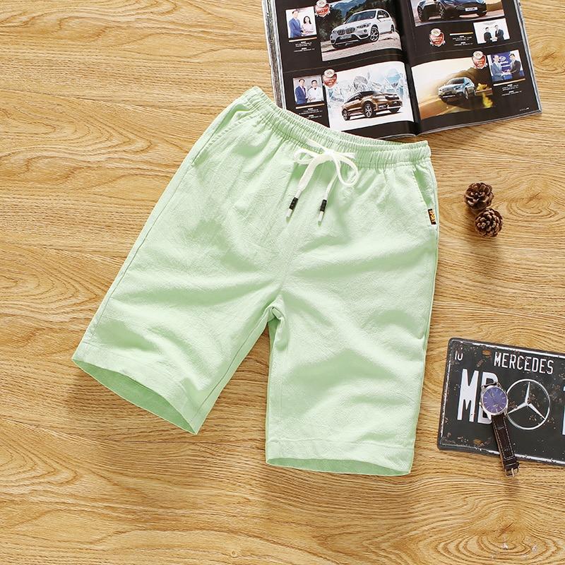 Thin Section Shorts Mens 4XL Pure Color Summer Men Drawstring Shorts Teen Fashion Casual Male Cool and Comfortable Choice