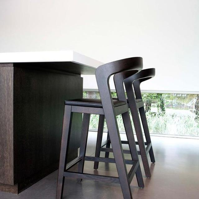 Bar Stühle barhocker nordic designer barhocker barhocker stühle holz polster