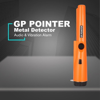 GP POINTER Handheld Mini Pro Pinpointing Metal Detector Gold Silver Coin Treasure Finder Hunting Search Vibration Alarm