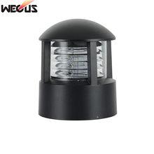 (WECUS) Simple E27 Base Outdoor Column Headlight Wall light Garden Light lamp Waterproof Villa Landscape Lawn Lamp