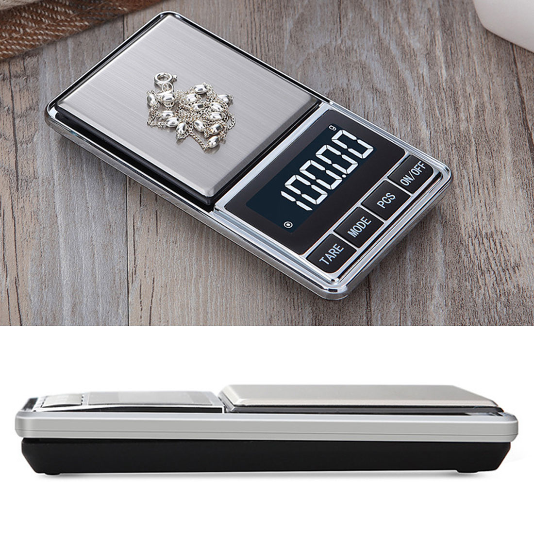 500g 100g x 0.01g Electronic Jewelry Scale Digital Pocket Weight Mini Precision Balance LCD Weight Scale 600g x 0 1g digital balance scale led precision weight