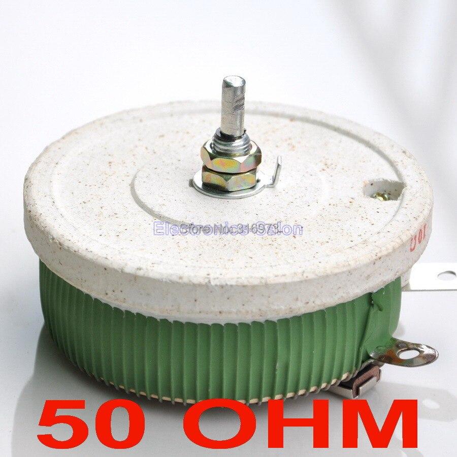 10 Pcs Lot 200w 50 Ohm High Power Wirewound Potentiometer Rheostat Variable Resistor Circuit 200 Watts
