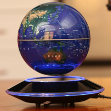Magnetic levitation 8 inch 20cm large space floating rotating globe technology to send the leadership desk furnishings
