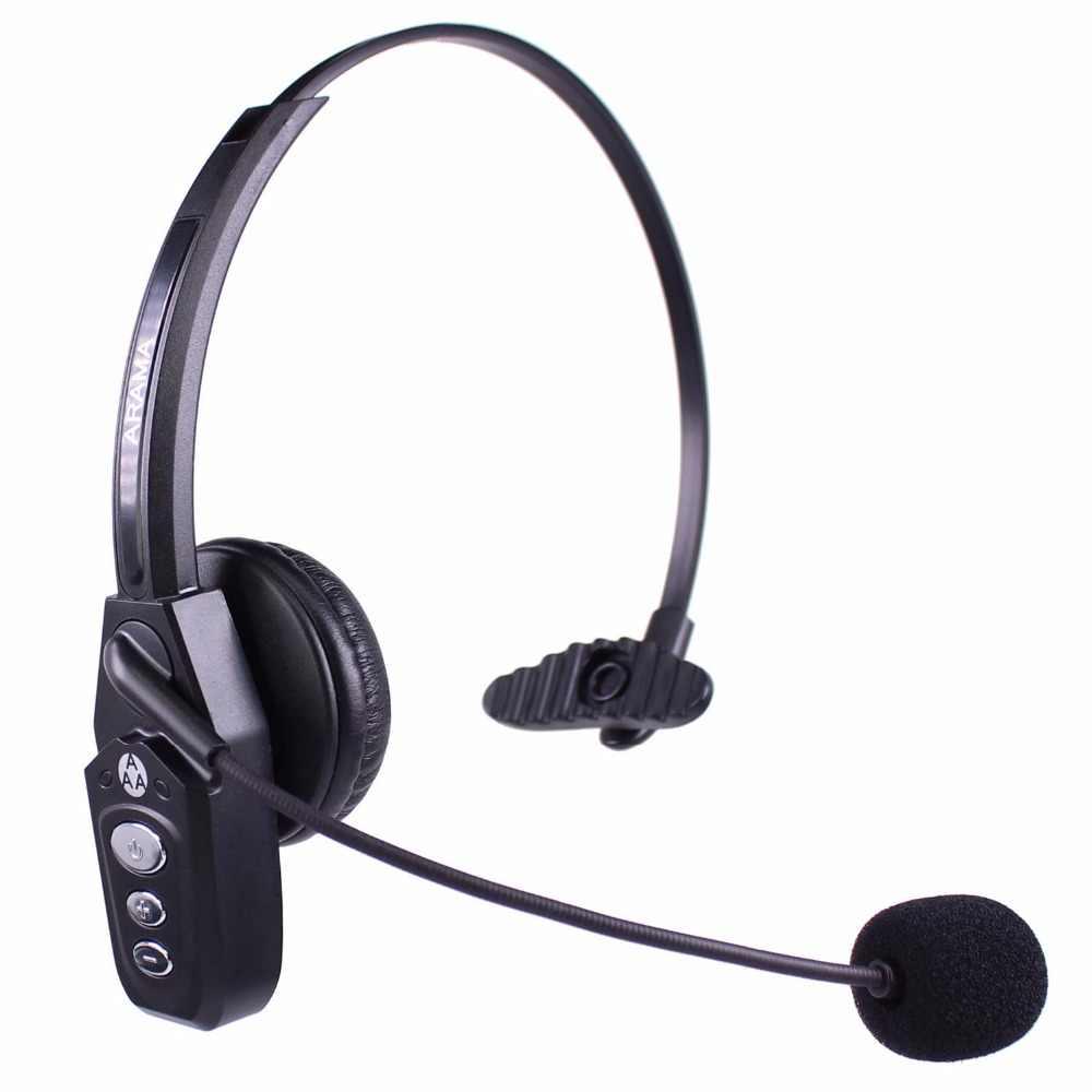 Wantek Arama Jbt800 Bluetooth Headphones With Microphone Office Wireless Headset Over Head Earpiece For Cell Phone Call Center Aliexpress