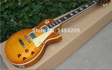 2013 neue ankunft 1959 reissue vos lemon yellow burst e-gitarre-freies verschiffen!!