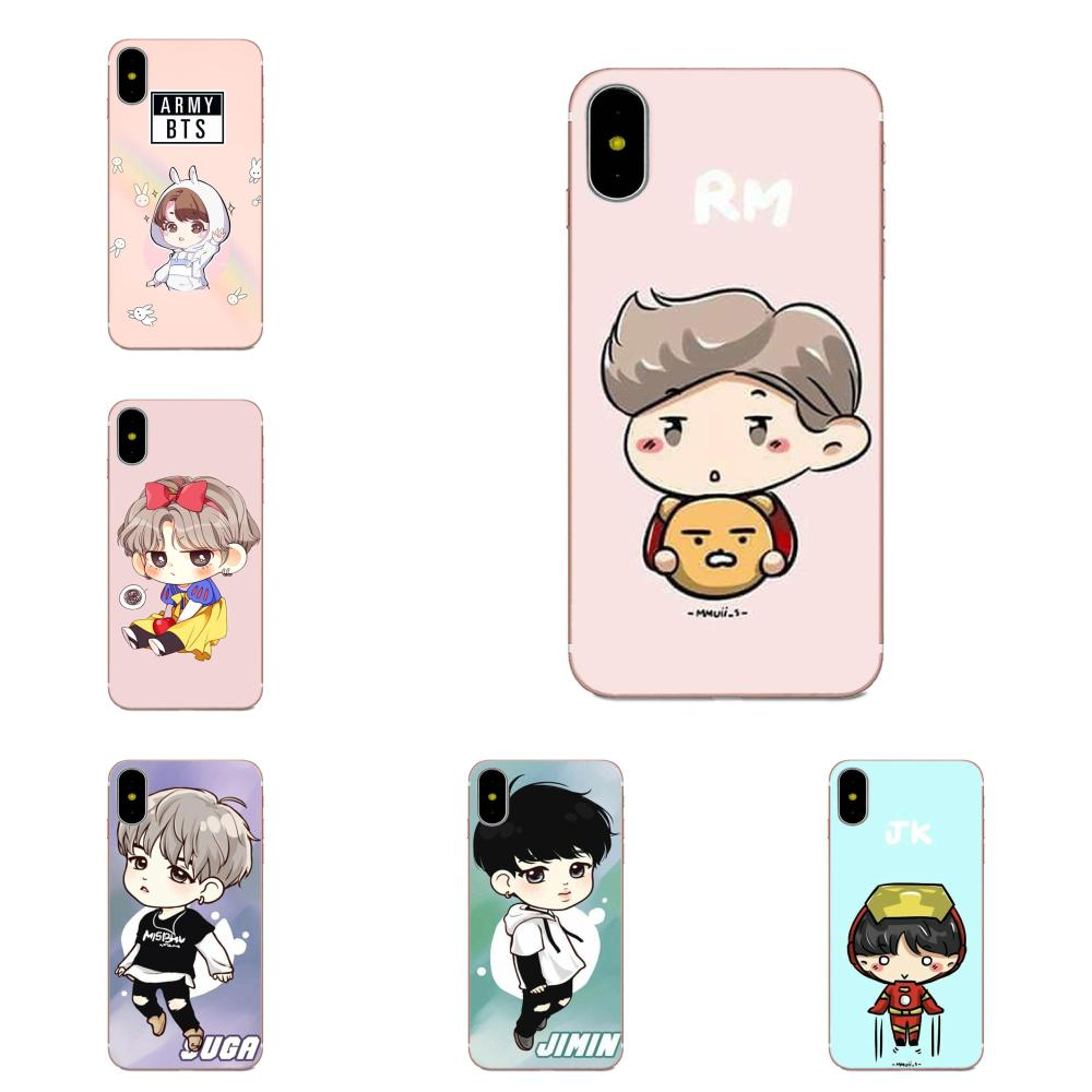 <font><b>Bts</b></font> Junge Forever Wings Niedlich Cartoon Für <font><b>Samsung</b></font> Galaxy Note 5 8 9 S3 S4 S5 S6 <font><b>S7</b></font> S8 S9 s10 mini Rand Plus Lite image
