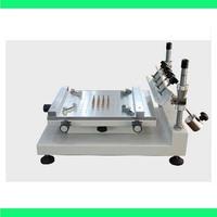 High Precision Manual PCB Silk Screen Press Precise Solder Paste Printing Machine Fast Free Shipping