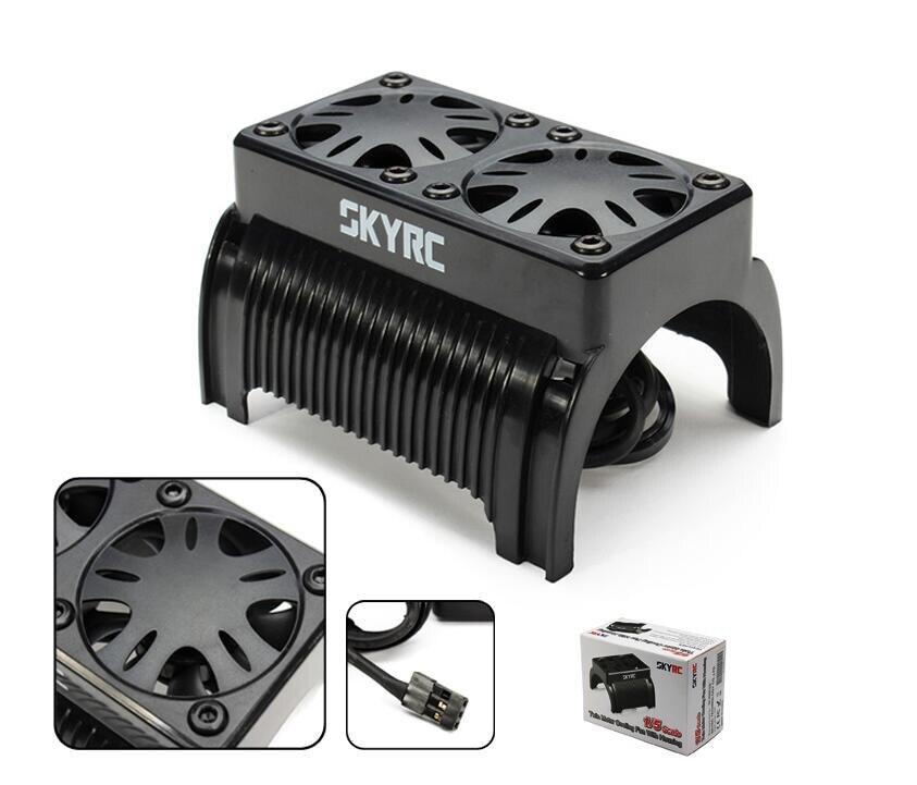 Free shipping!!SKYRC Twin Brushless Motor Radiator Cooling Fan with Housing холодильник samsung rs4000 с двухконтурной системой twin cooling 569 л