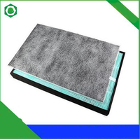 Air Purifier Parts Activated Carbon Filter + HEPA Dust Collection Filter for Sharp KC W280SW KC Z280SW KC 100SC Air Purifier