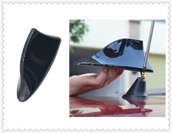 Car universal decorative shark fin antenna with signal radio for BMW M8 M550i M550d M4 M3 E92 E38 E91 E53 E70 X5 M M3 image