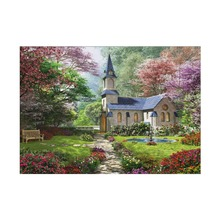 5D diy diamond painting cross stitch home decoration needlework Diy embroidery gift autumn cottage