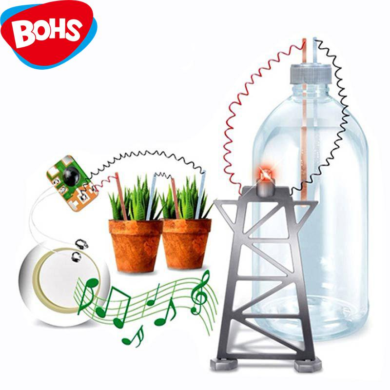 BOHS Battery Power Generation Experiment Electricity Circuit Physics Diy Science and Nature Toys, with English Instruction