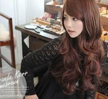 WIG New Fashion Sexy Hot Style Long Curly Women Lady Full Wig Free Shipping(China)