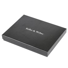 High Quality Watch Wallet Gifts Box Accessories Top Luxury Black Rectangle Velvet Gift Boxes Cases Drop Shipping(China)