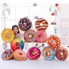 Free Shipping Funny Ring Cartoon Donuts Sofa and Cushion Pillow back Cushion Car Mats Student donut pillow Toy For Kids Gift