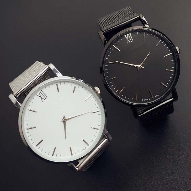 Watches Men Luxury Brand Quartz Watches Men steel Watch Casual Wristwatch Male Clock relojes hombre Relogio