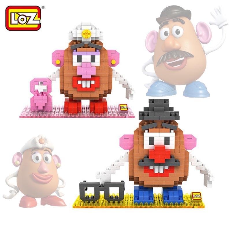 Loz toy story mr potato head toy model action figure building blocks original retail box 14 - Monsieur patate toy story ...