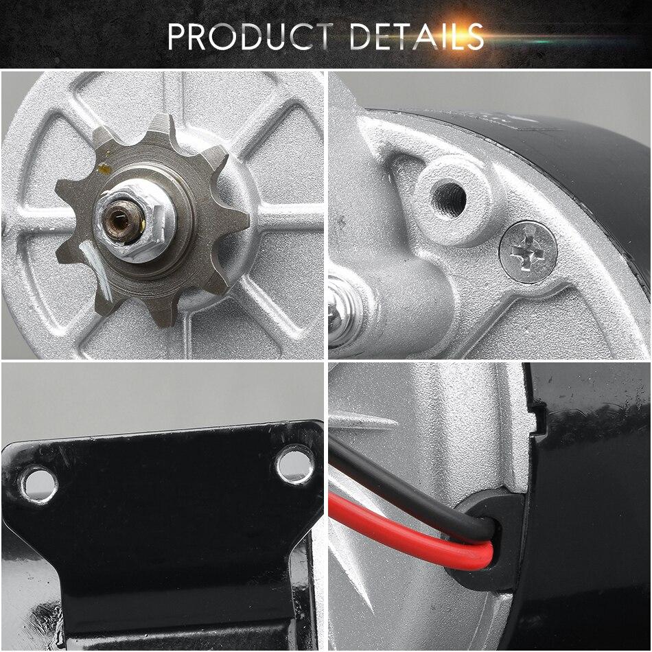 MY1016Z3 350W 24 V/36 V DC Pinsel Motor Elektrische Dreirad Getriebe Motor E Bike Roller Motorrad DC getriebe Motor - 3