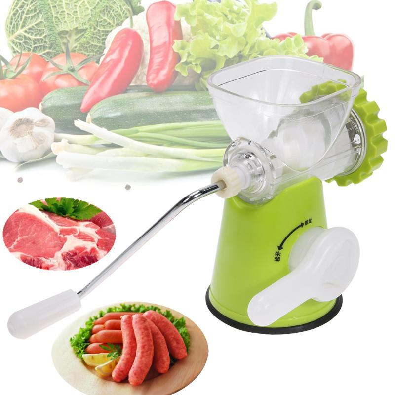آلة اللحوم المفرمة اليدوي المقاوم للصدأ شفرة طاحونة المحمولة اكسسوارات المطبخ أدوات المطبخ آلة النقانق