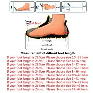 Image 5 - Fevral 春夏女性スプリットレザーカジュアル中空靴ファッション通気性女性モカビッグサイズ 35 〜 44