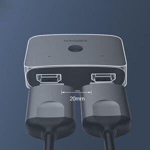 Image 3 - Xiaomi HAGIBIS HDMI Multi function Converter Adapter Dual Way HDMI Splitter Switcher 4K 1080P HDTV for Compute TV Smart Home