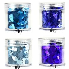 10g/Pot Festival Face Chunky Glitter Party Make Up Cosmetic Glitters Body Carnival Decor Beauty Makeup Face Body Hair Nail Craft body craft f609
