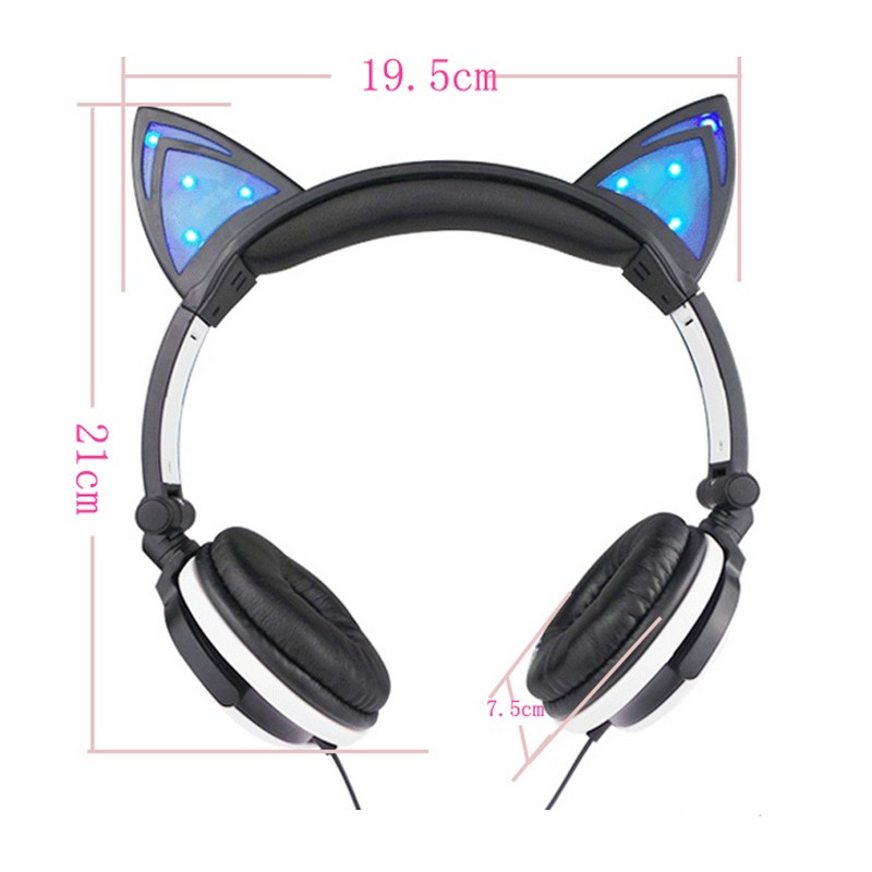 E0432-Gaming Headphones with Cat Ears Shape-1 (3)