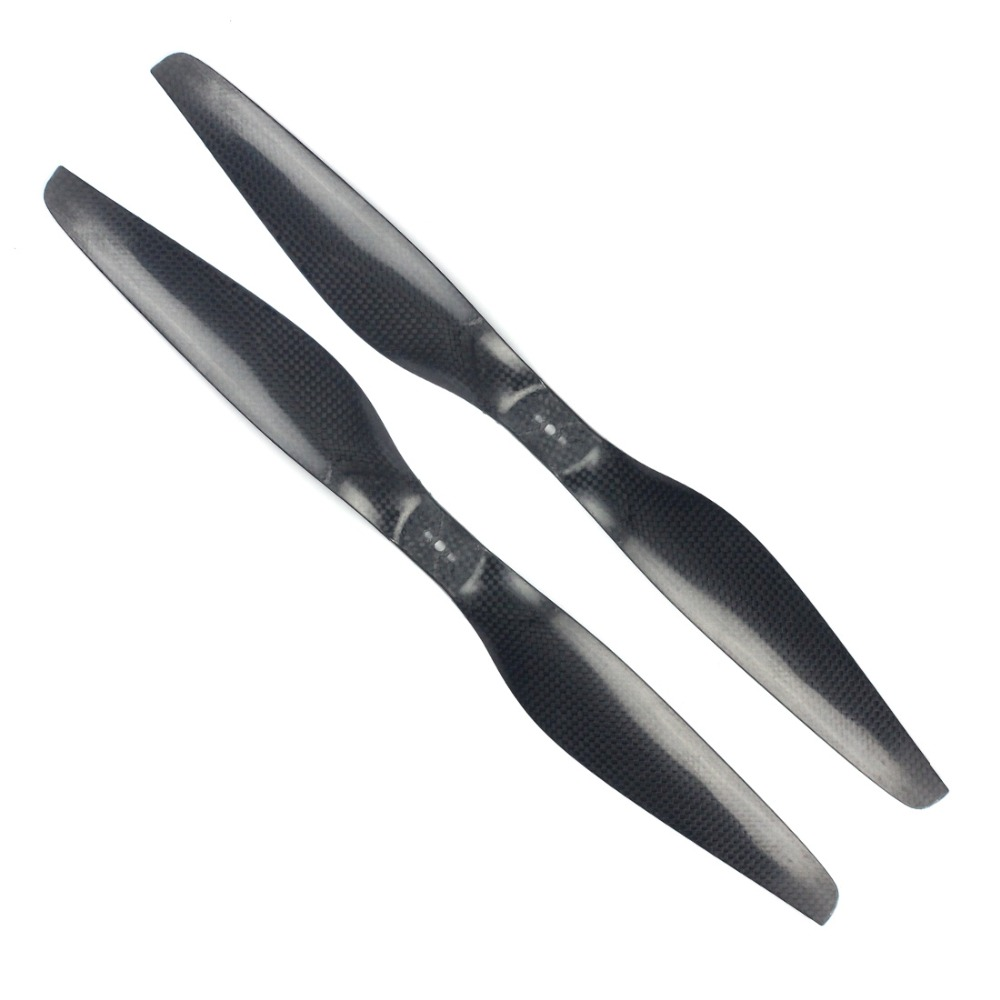 1 Pair 16/17/18/20/22 Inch 3K Carbon Fiber Propeller CW CCW Props For  Multicopter Quadcopter RC Drone