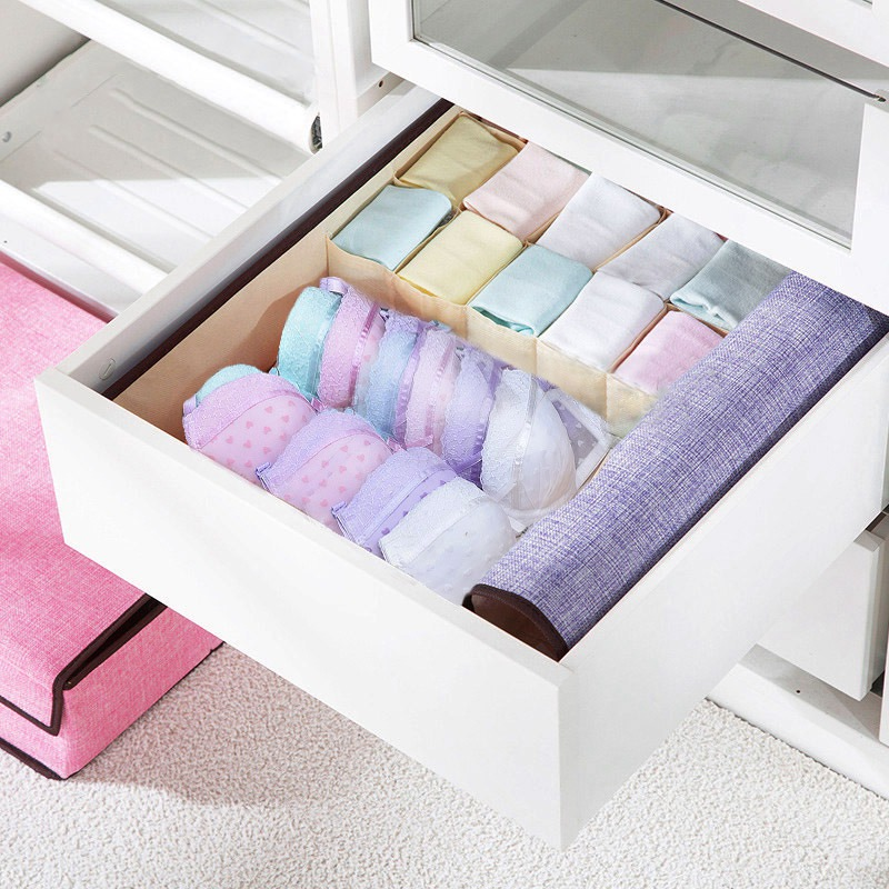 Home Drawers Organizers Box Underwear Organizer Drawer Divider Storage Ties Socks Shorts Bra Clothing Storage Boxes ...