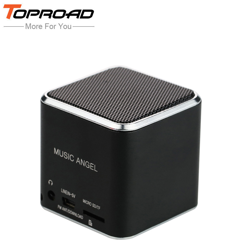 toproad mini portable enceinte speaker caixa de som hifi subwoofer speakers fm tf mp3 music. Black Bedroom Furniture Sets. Home Design Ideas