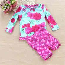 Enfants UV Protection Solaire Maillots De Bain De Natation De Dessin Animé Costumes pour Filles Maillot de bain Fille Maillot de bain