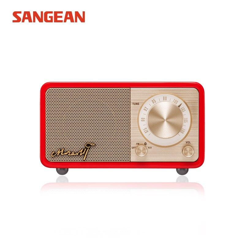 SANGEAN MOZART Free shipping Bluetooth mini radio speaker fm speaker fm radio цены онлайн