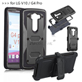 "Heavy Duty Rugged Anti-strike and Shockproof Armor Phone CASE for LG V10 F600 H968 / G4 Pro 5.7"" VS990 Dual 4G LTE Cover"