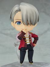 Free Shipping Cute 4 Nendoroid YURI On ICE Victor Nikoforov Boxed 10cm PVC font b Action