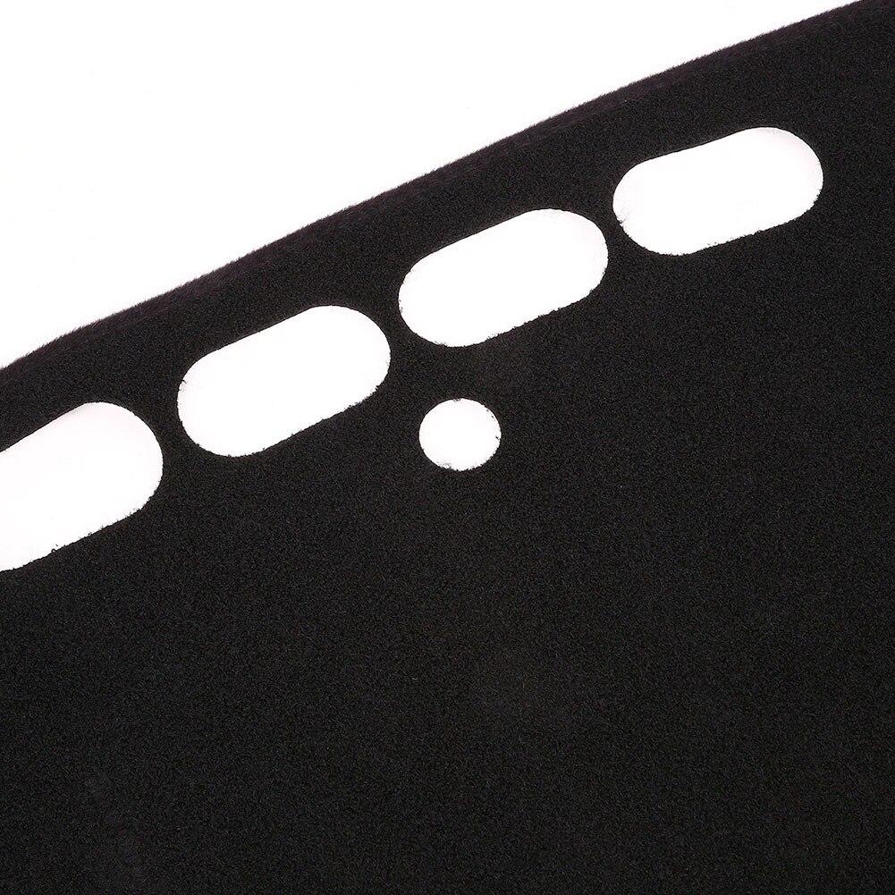 Солнцезащитная Накладка для машины накладка силиконовая Нескользящая черная накладка для приборной панели оттенки коврик для приборной панели запчасти для двигателей для Chevrolet Malibu-подарок