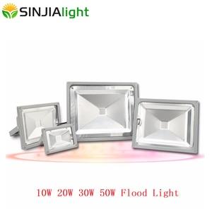LED Floodlight 10W 20W 30W 50W Exterior Spotlight Waterproof IP65 Refletor Flood Light Garden Outdoor Lighting Wall Lamp Luminai