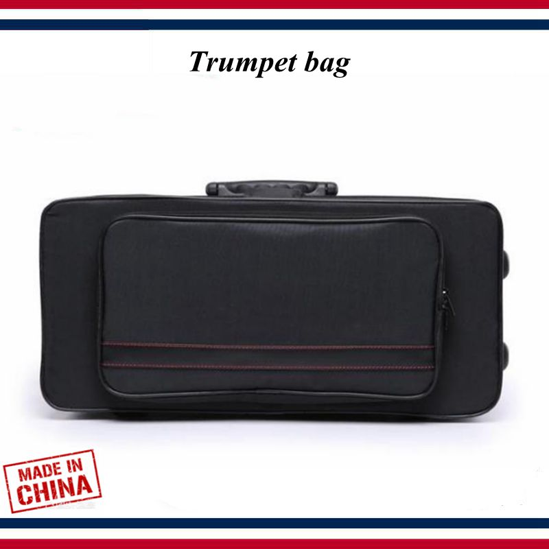 Trumpet Accessories - Trumpet Case - Lightweight Waterproof Black Trumpet Bag - Trumpet Parts
