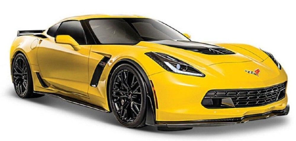 Maisto 1/24 2015 Corvette Z06 Diecast MODEL Racing Car NEW IN BOX