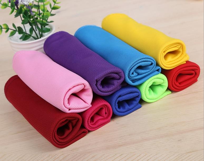 80x30 см Спортивное охлаждающее полотенце пот Лето лед полотенце ледяное полотенце высокое качество гипотермия холодное полотенце