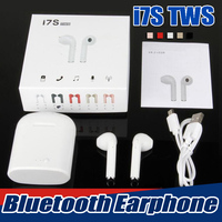 20PCS Mini I7S TWS Earbuds Wireless Bluetooth Double Earphones I7 Twins With Mic Stereo V4 2