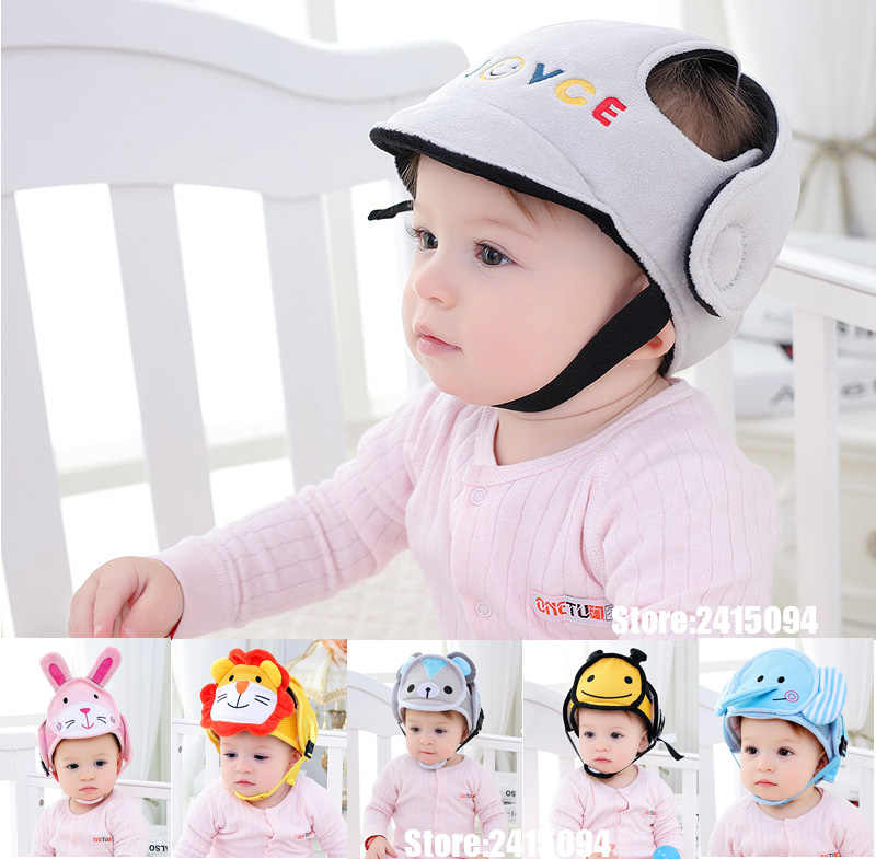Baby Protective Helmet Boy Girls Anti-collision Safety Helmet Infant Toddler security & Protection Soft Hat for Walking Kids cap