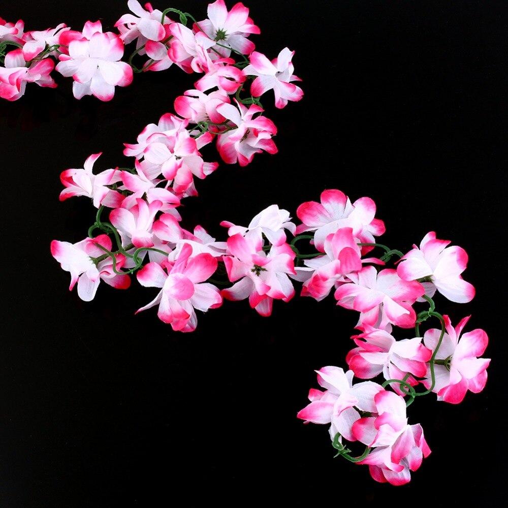 Online kopen wholesale zijde bloemen garland uit china zijde ...