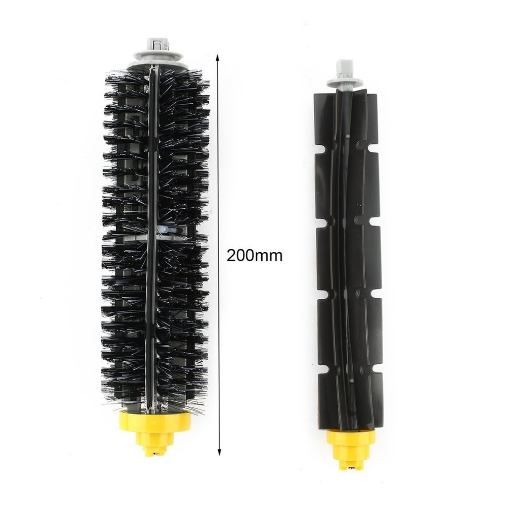 Professional Sale 3pcs Cleaning Robot Side Brush Vacuum Cleaner Filter One Rolling Brush Glue Cleaner Flat Comb Brushes Circular Rolling Brush Vacuum Cleaner Parts Home Appliance Parts