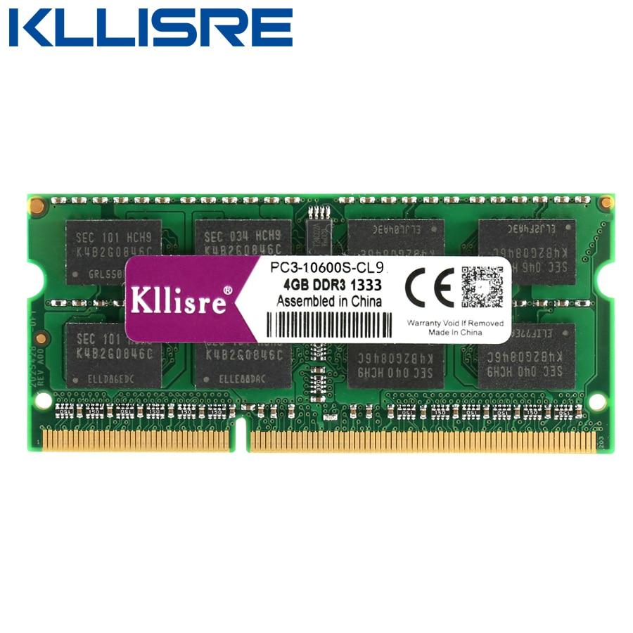 Kllisre DDR3L DDR3 ноутбук с оперативной памятью 4 ГБ 8 ГБ 1333 1600 1,35 V 1,5 V Тетрадь карта оперативной памяти 4GB 8GB