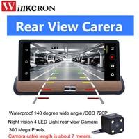 7 3G GPS Navigation Car dvr Camera dual lens dvr car Rear view camera Android GPS Navigation Bluetooth AVIN WIFI 16GB free map