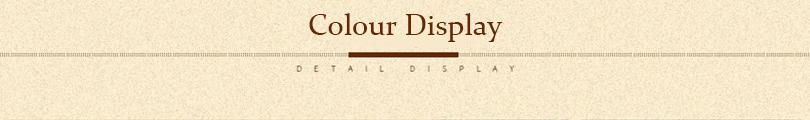 colour display